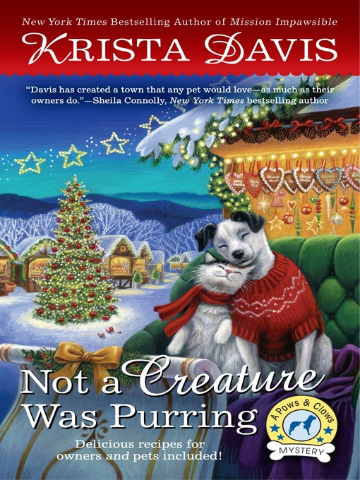 Title details for Not a Creature Was Purring by Krista Davis - Available
