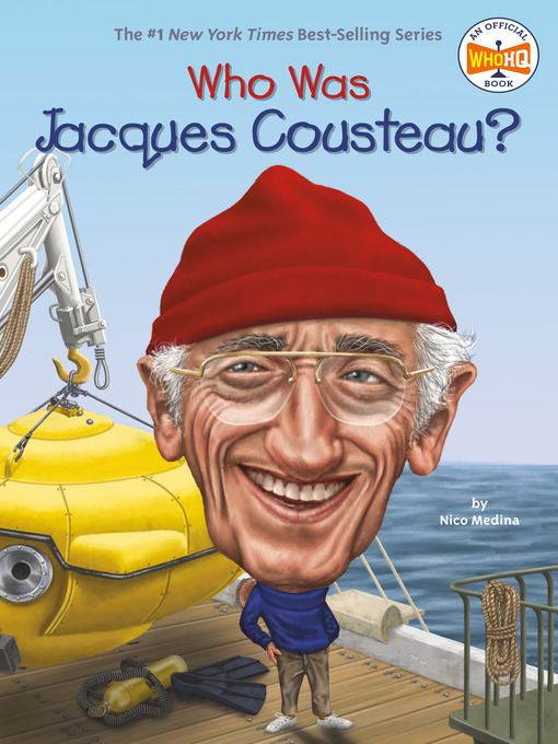 Cover of Who Was Jacques Cousteau?