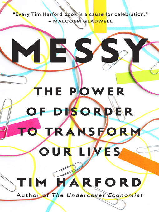 Title details for Messy by Tim Harford - Wait list