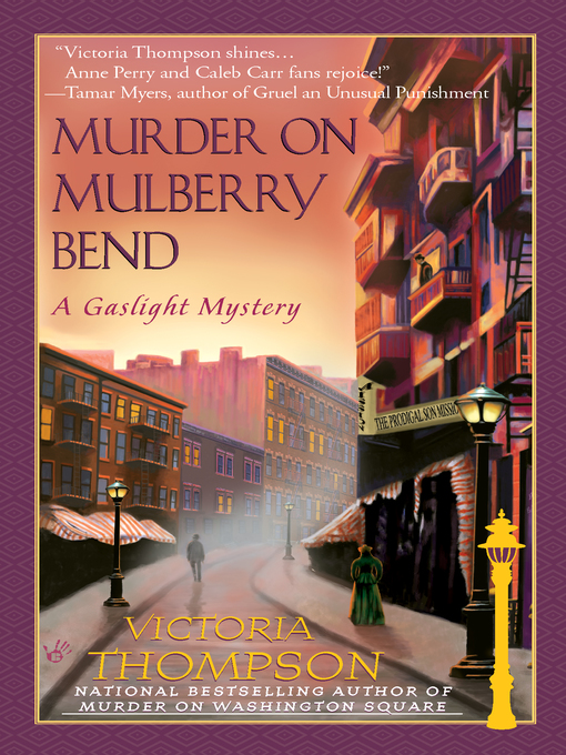 Cover of Murder on Mulberry Bend