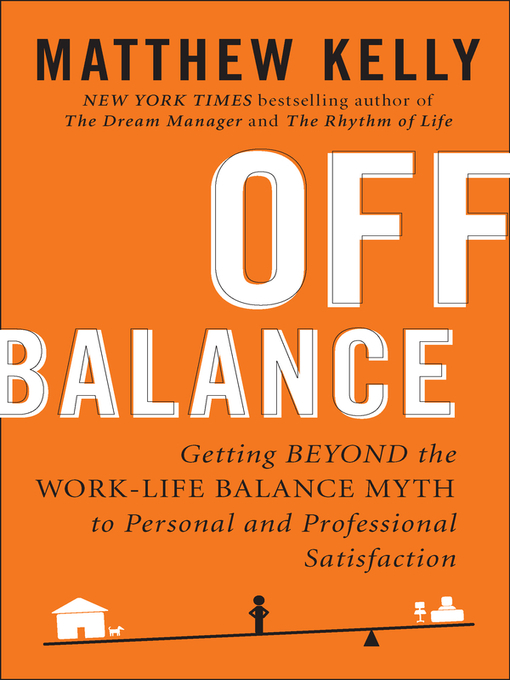 Title details for Off Balance by Matthew Kelly - Wait list