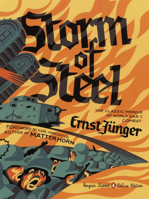Title details for Storm of Steel by Ernst Junger - Wait list