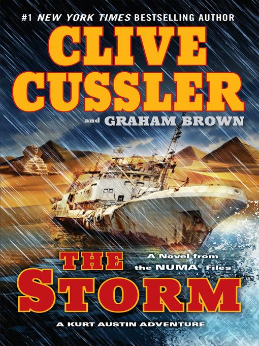 Title details for The Storm by Clive Cussler - Wait list