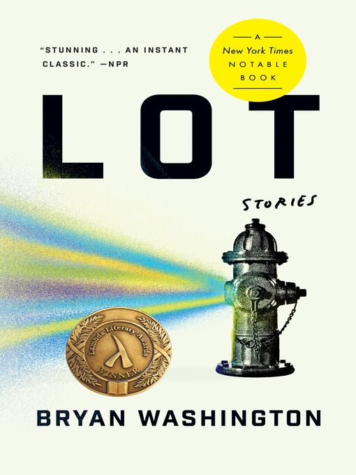 Title details for Lot by Bryan Washington - Available