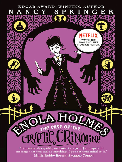 Title details for The Case of the Cryptic Crinoline by Nancy Springer - Available