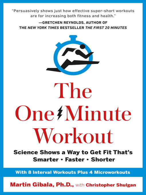 Title details for The One-Minute Workout by Martin Gibala - Available