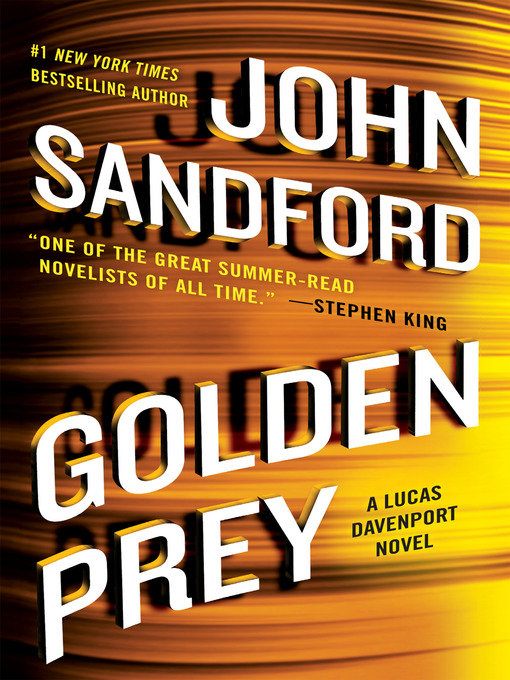 Title details for Golden Prey by John Sandford - Wait list