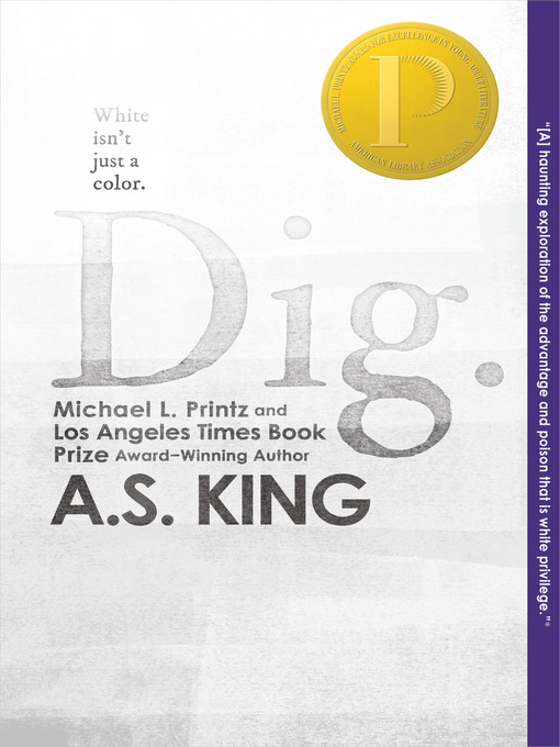 Dig, book cover