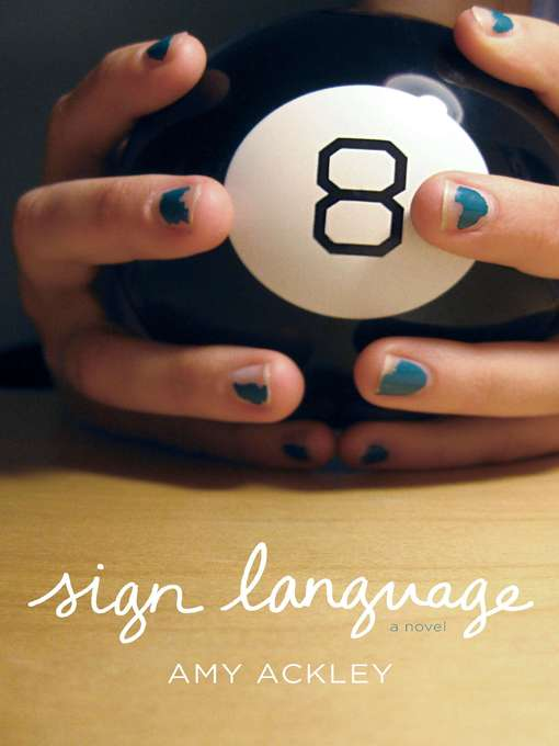 Title details for Sign Language by Amy Ackley - Available