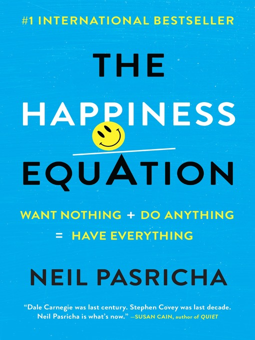 Title details for The Happiness Equation by Neil Pasricha - Wait list
