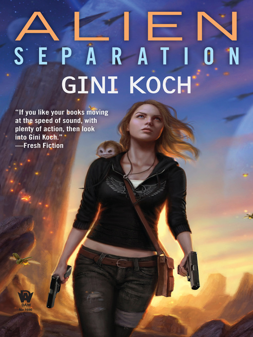 Title details for Alien Separation by Gini Koch - Wait list