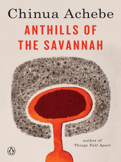 Cover image for Anthills of the Savannah