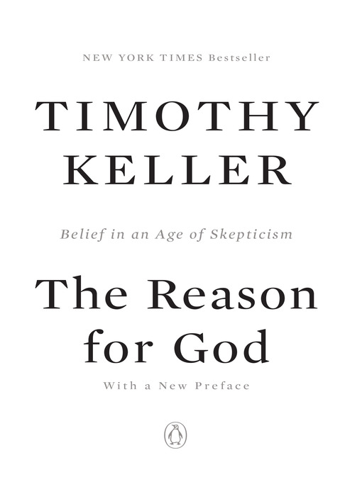 Title details for The Reason for God by Timothy Keller - Available