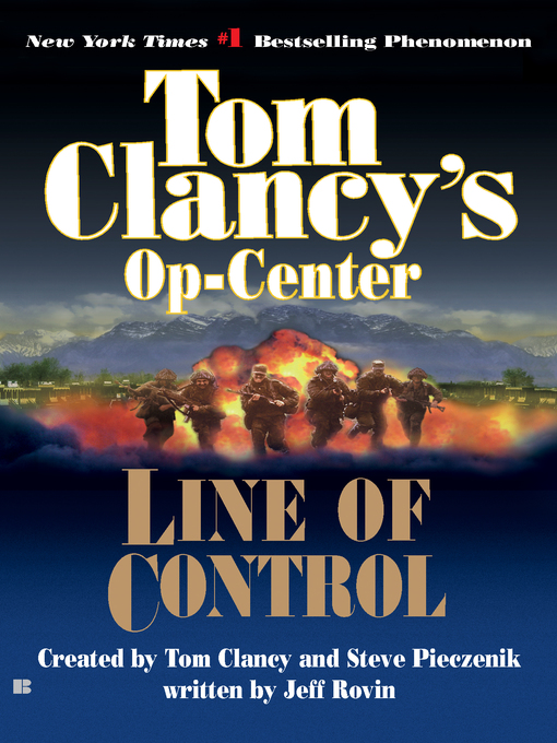 Title details for Line of Control by Tom Clancy - Wait list