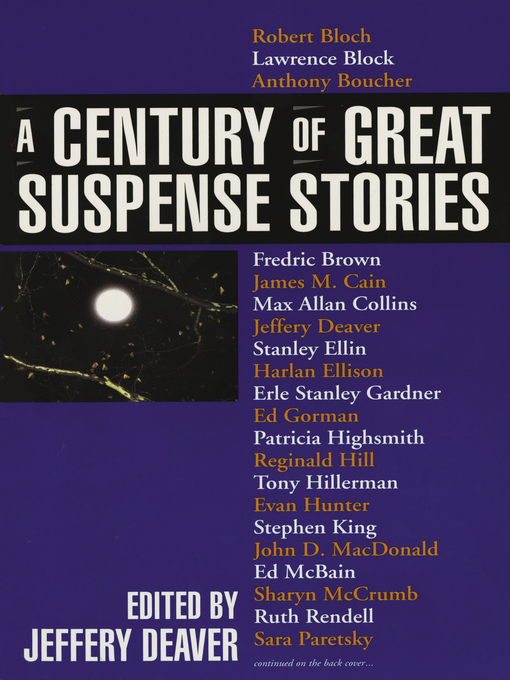 Title details for A Century of Great Suspense Stories by Various - Available