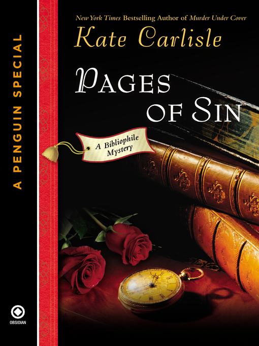 Title details for Pages of Sin by Kate Carlisle - Available