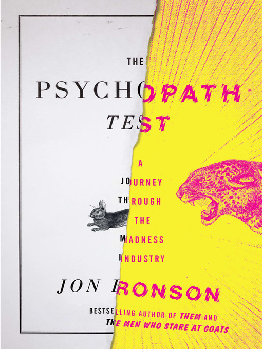 Title details for The Psychopath Test by Jon Ronson - Available