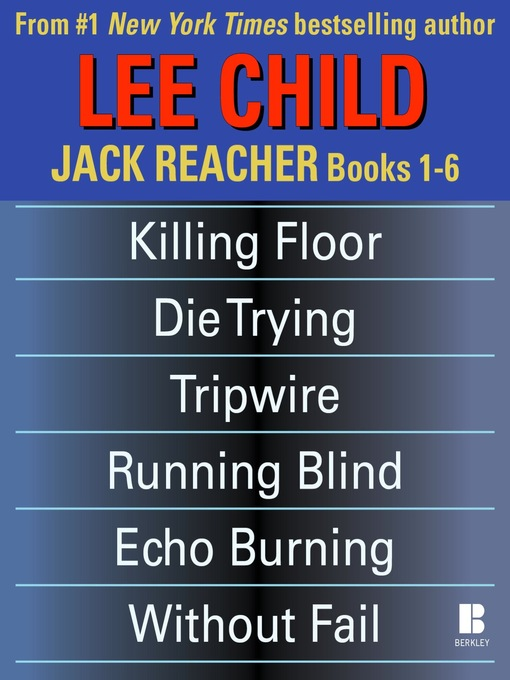 Title details for Jack Reacher, Books 1-6 by Lee Child - Wait list