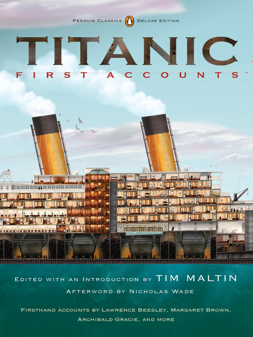 Title details for Titanic, First Accounts by Various - Wait list