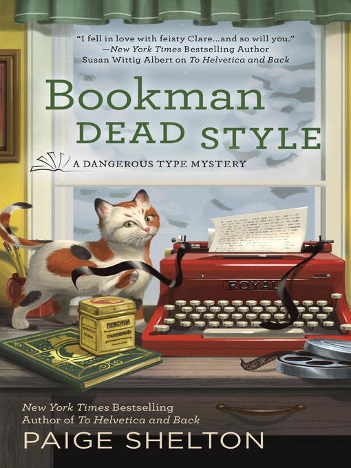 Title details for Bookman Dead Style by Paige Shelton - Available