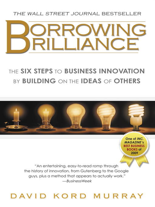 Title details for Borrowing Brilliance by David Kord Murray - Available