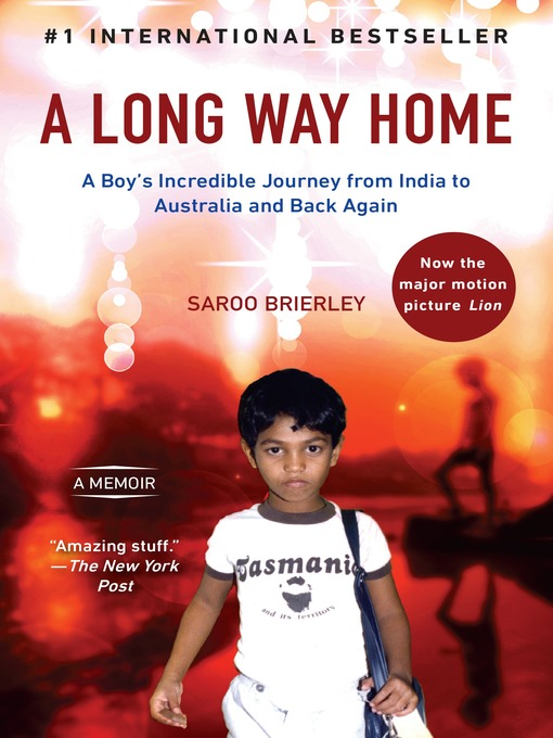 Title details for A Long Way Home by Saroo Brierley - Wait list
