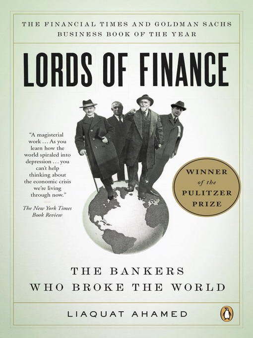 Title details for Lords of Finance by Liaquat Ahamed - Wait list