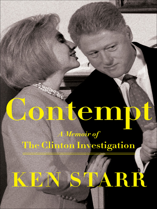 Title details for Contempt by Ken Starr - Available
