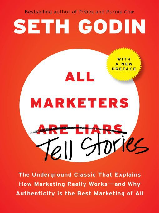 Title details for All Marketers are Liars (with a New Preface) by Seth Godin - Wait list