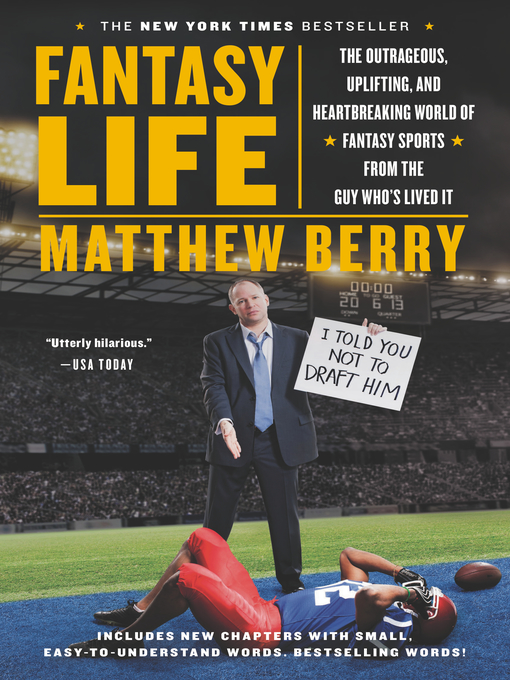 Title details for Fantasy Life by Matthew Berry - Wait list