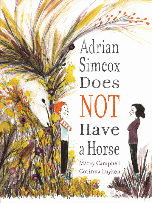 Adrian Simcox Does Not Have A Horse