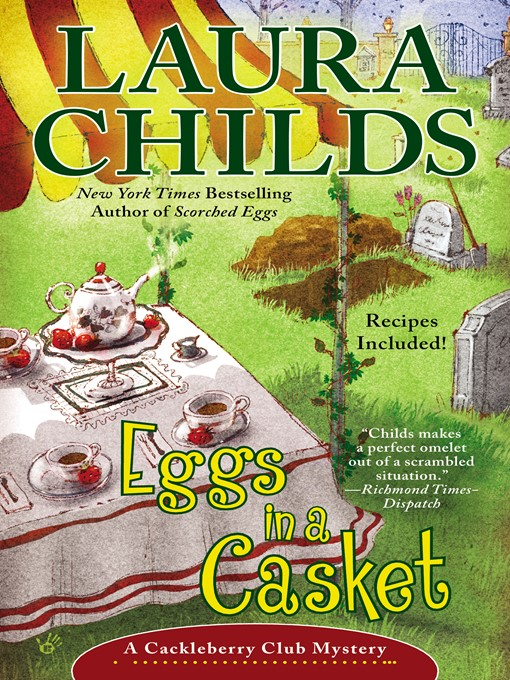Title details for Eggs in a Casket by Laura Childs - Wait list