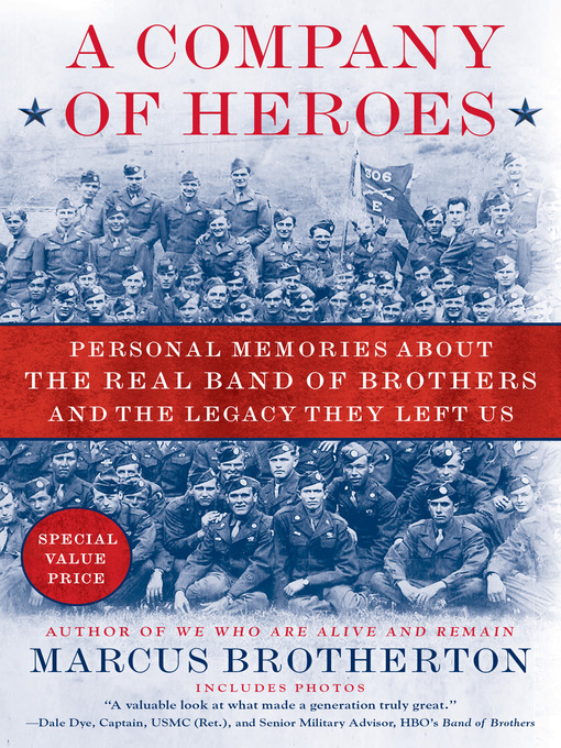 Title details for A Company of Heroes by Marcus Brotherton - Available