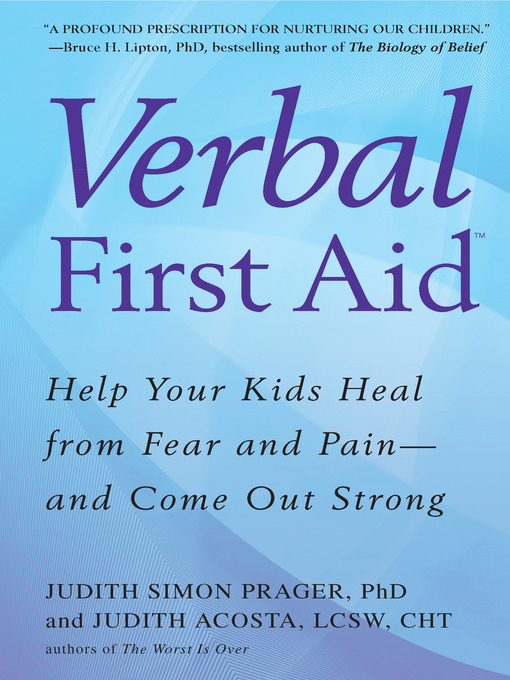 Title details for Verbal First Aid by Judith Simon Prager - Available
