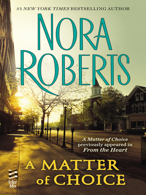 Cover of A Matter of Choice