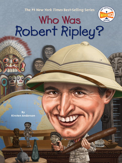 Cover of Who Was Robert Ripley?
