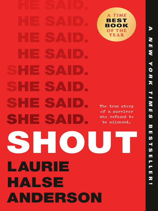 Title details for SHOUT by Laurie Halse Anderson - Available