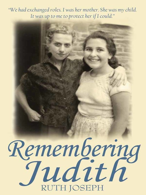 Cover of Remembering Judith
