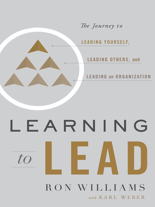 Title details for Learning to Lead by Ron Williams - Available
