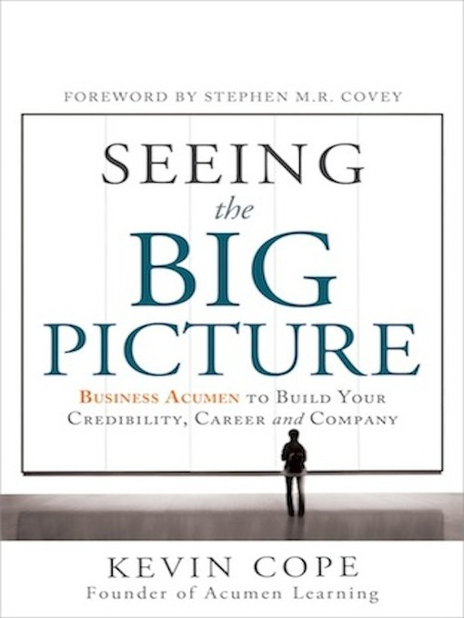 Cover of Seeing the Big Picture