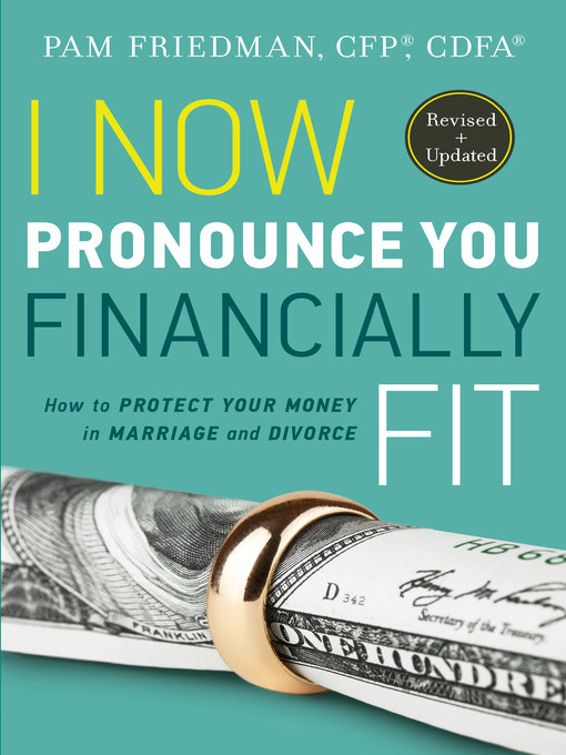 Title details for I Now Pronounce You Financially Fit by Pam Friedman - Wait list
