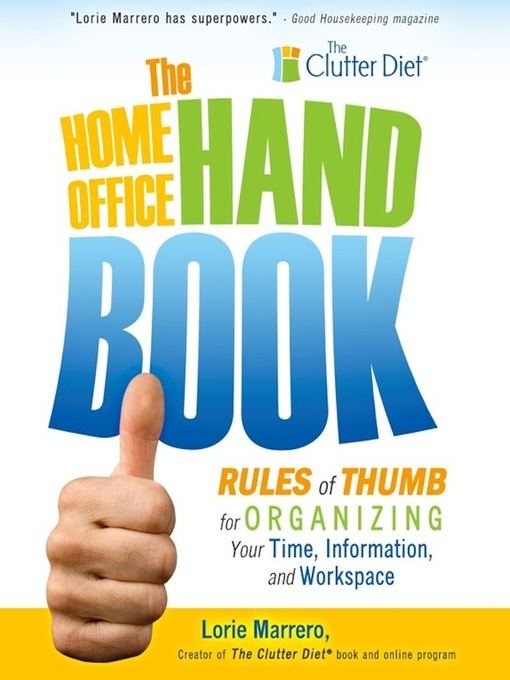 Title details for Home Office Handbook by Lorie Marrero - Available