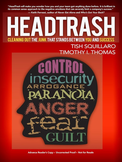 Title details for HeadTrash by Tish Squillaro - Available