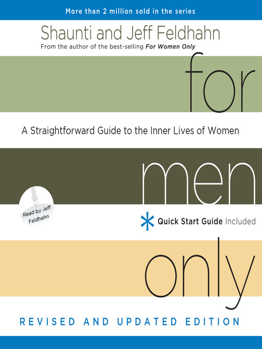 Title details for For Men Only, Revised and Updated Edition by Shaunti Feldhahn - Available