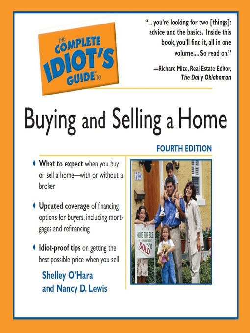 Cover of The Complete Idiot's Guide to Buying and Selling a Home