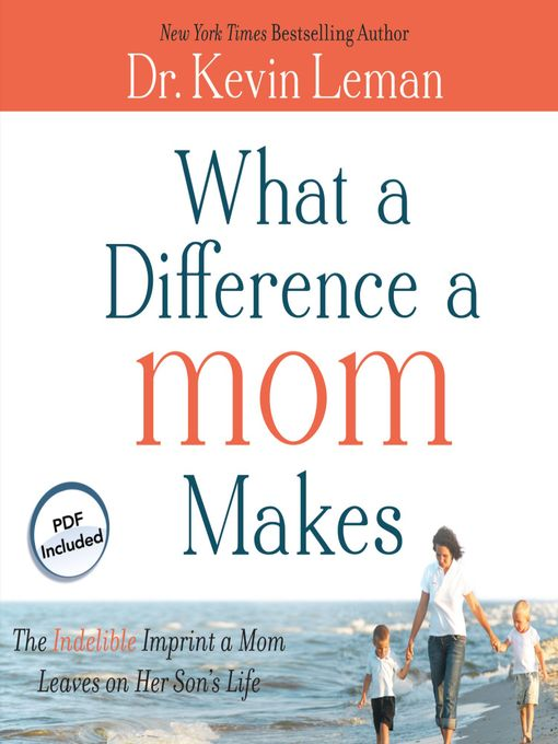 Title details for What a Difference a Mom Makes by Kevin Leman - Wait list