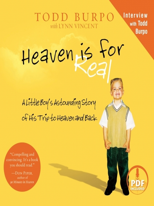 Title details for Heaven is for Real by Todd Burpo - Available