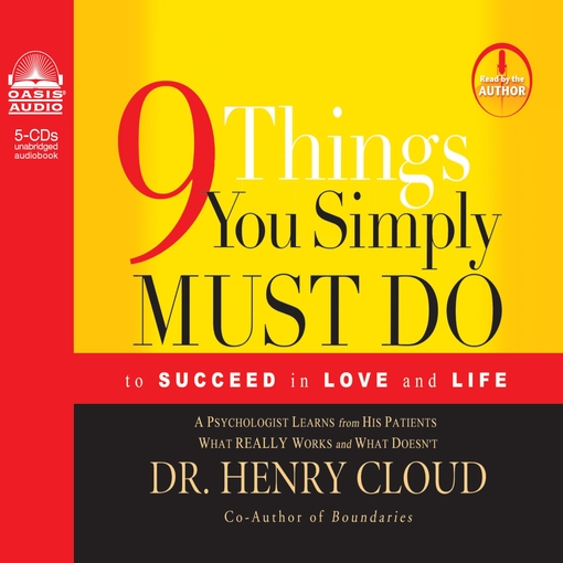 Title details for 9 Things You Simply Must Do by Henry Cloud - Available