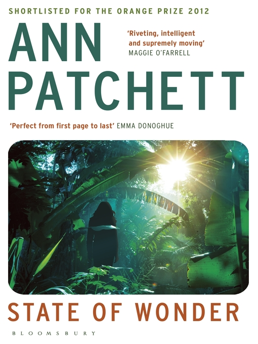 Title details for State of Wonder by Ann Patchett - Wait list