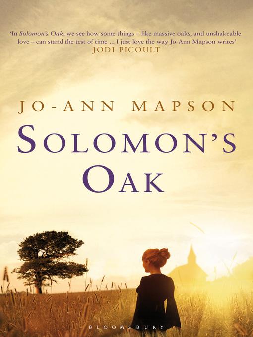 Title details for Solomon's Oak by Jo-Ann Mapson - Available